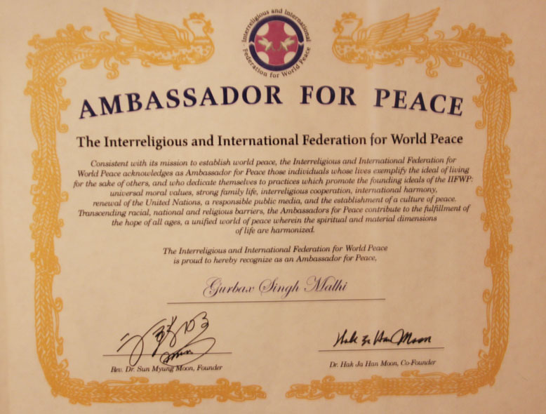 Ambassadar-of-Peace